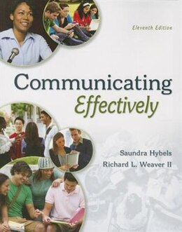 Book COMMUNICATING EFFECTIVELY by Saundra Hybels