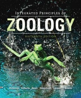Book Integrated Principles of Zoology by Jr., Cleveland Hickman