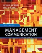 Management Communication: Principles and Practice: Principles and Practice