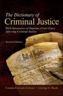Book The Dictionary of Criminal Justice by Connie Estrada Ireland