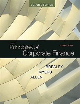 Book Principles of Corporate Finance, Concise by Richard Brealey