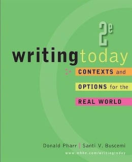 Book Writing Today by Donald Pharr