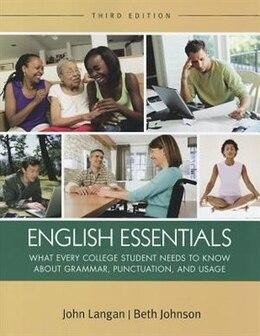 Book English Essentials by John Langan