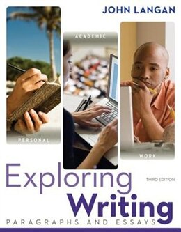 Book Exploring Writing: Paragraphs and Essays by John Langan