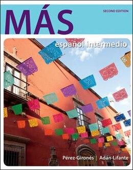 Book MÁS: español intermedio by Ana María Pérez-Gironés