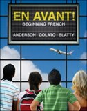 Book En avant: Beginning French by Bruce Anderson