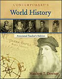 Book World History - Annotated Teacher's Edition by Matthew Downey