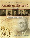Book American History 2 (After 1865), Annotated Teacher's Edition' by Matthew Downey