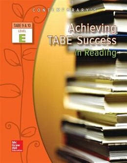 Book Achieving TABE Success In Reading, Level E Workbook by Contemporary