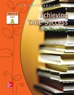 Book Achieving TABE Success In Reading, Level A Workbook by McGraw-Hill Education