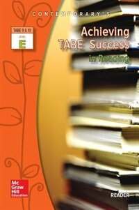 Book Achieving TABE Success In Reading, Level E Reader by McGraw-Hill Education