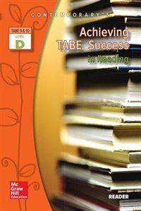 Book Achieving TABE Success In Reading, Level D Reader by McGraw-Hill Education