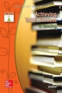Book Achieving TABE Success In Reading, Level A Reader by McGraw-Hill Education