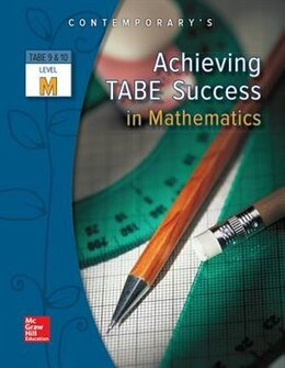 Book Achieving TABE Success In Mathematics, Level M Workbook by McGraw-Hill Education