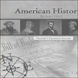Book American History 1 (Before 1865), Blackline Masters Only by Matthew Downey