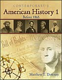 Book American History 1 (Before 1865), Hardcover Student Text Only by Matthew Downey