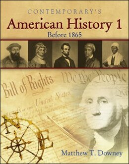 Book American History 1 (Before 1865) - Student CD-ROM Only by Matthew Downey