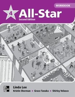 Book All Star 4 Workbook by Linda Lee