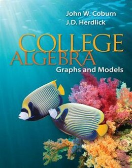 Book Student Solutions Manual for College Algebra: Graphs & Models by John Coburn