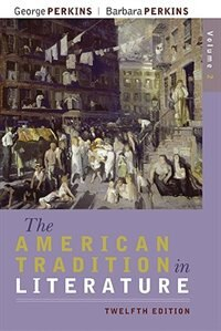 Book The American Tradition in Literature, Volume 2 (book alone) by George Perkins