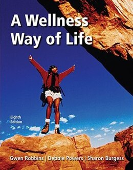 Book A Wellness Way of Life with Exercise Band by Gwen Robbins