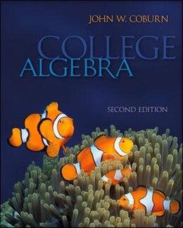 Book College Algebra by John Coburn