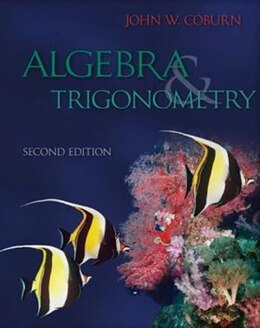 Book Algebra & Trigonometry by John Coburn