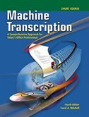 Book Machine Transcription Short Course w/ student CD + Audio CD MP3 Format by Carol Mitchell