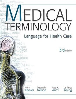 Book MP Medical Terminology: Language for Health Care w/Student CD-ROMs and Audio CDs: Language for… by Nina Thierer