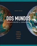 Book Workbook/Lab Manual Part B to accompany Dos mundos by Tracy Terrell
