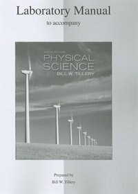 Book Lab Manual for Physical Science by Bill Tillery