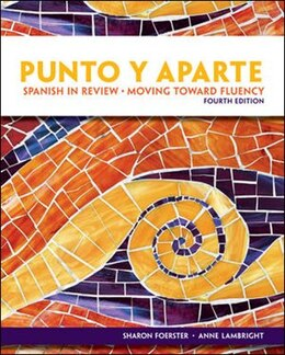 Book Workbook/Laboratory Manual for Punto Y Aparte by Sharon Foerster