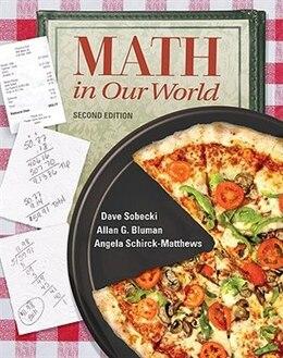 Book Math in Our World by David Sobecki