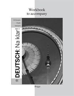 Book Workbook for Deutsch: Na klar! by Jeanine Briggs