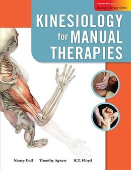 Book Kinesiology for Manual Therapies with Muscle Cards by Nancy Dail