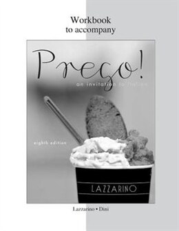 Book Workbook for Prego! by Graziana Lazzarino