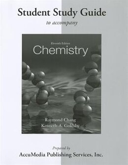 Book Student Study Guide for Chemistry by Raymond Chang