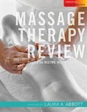 Book Massage Therapy Review with Passcode Card by Laura Abbott