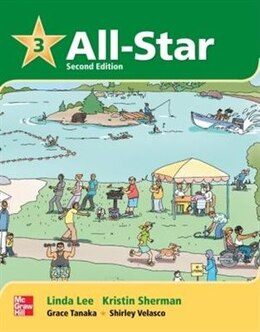 Book All-Star 3 Student Book w/Work-Out CD-ROM by Linda Lee