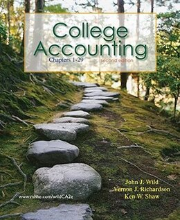 Book Loose-leaf College Accounting CHAPTERS 1-29 by John Wild