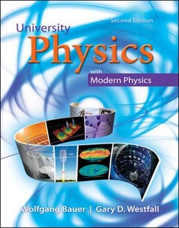 Book University Physics With Modern Physics Volume 1 (chapters 1-20) by Wolfgang Bauer