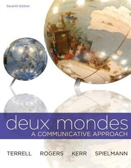 Book WBLM for Deux mondes (Cahier d'exercices) by Tracy Terrell