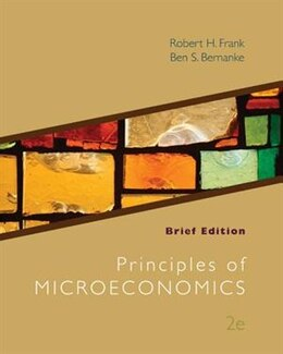 Book Loose-Leaf Principles of Microeconomics Brief Edition by Robert Frank
