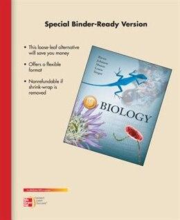 Book Loose Leaf Biology by Peter Raven
