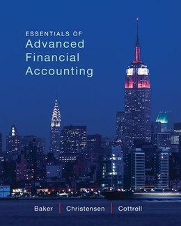 Book Loose-Leaf Essentials of Advanced Financial Accounting by Richard Baker