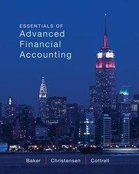 Loose-Leaf Essentials of Advanced Financial Accounting