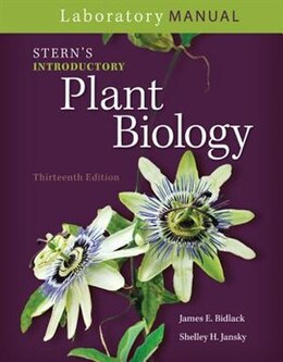 Book Laboratory Manual for Stern's Introductory Plant Biology by James Bidlack