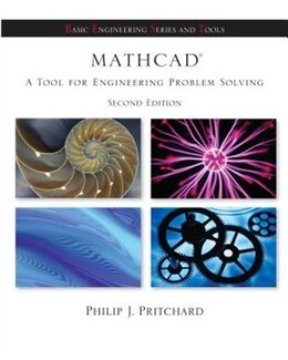 Book Mathcad: A Tool for Engineering Problem Solving + CD ROM to accompany Mathcad by Philip Pritchard