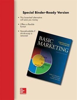 Book LOOSE LEAF FOR BASIC MARKETING by Jr., William Perreault