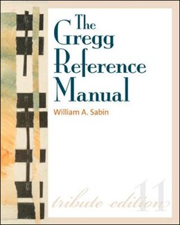Book The Gregg Reference Manual w/ Desktop Edition Access Card by William Sabin